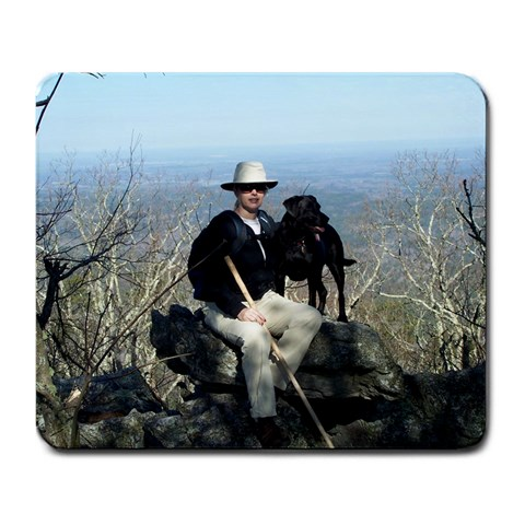 Cheaha State Park By Vicki Kilcrease Bishop   Large Mousepad   88nqnz5fcz0e   Www Artscow Com Front