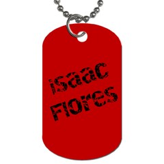 Isaac s Tkd Dog Tag  By Micaela   Dog Tag (two Sides)   Upvdvr0jawjs   Www Artscow Com Back