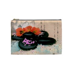 Stones By Annette Mercedes   Cosmetic Bag (medium)   Efyhijbrc90d   Www Artscow Com Front