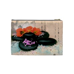 Stones By Annette Mercedes   Cosmetic Bag (medium)   Efyhijbrc90d   Www Artscow Com Back