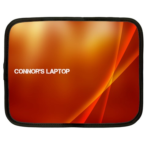 Macbook Case By Connor Haigh   Netbook Case (large)   Teyux0vo8xmz   Www Artscow Com Front