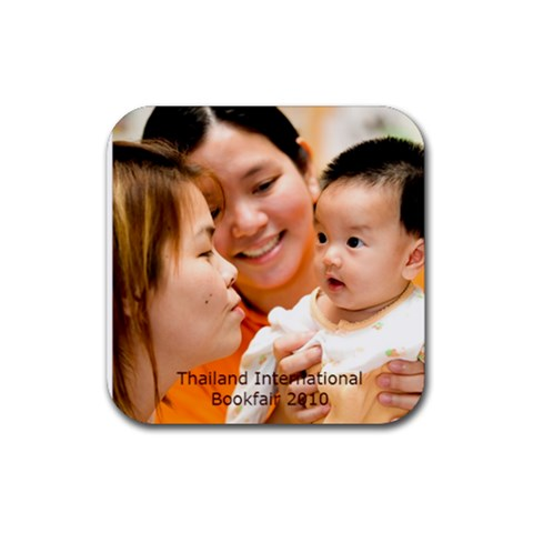 Kaowpan Coaster    By Suweeriya   Rubber Coaster (square)   2jvl8qf1eap8   Www Artscow Com Front