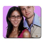 jessica and jordan mouse pad - Collage Mousepad