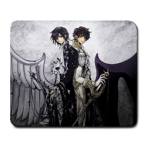 Code Geass  By Владимер Вдадимерович   Collage Mousepad   V46bsj5i2pwy   Www Artscow Com 9.25 x7.75 Mousepad - 1