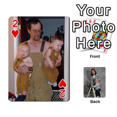 Personalized Playing Cards By Jennfer   Playing Cards 54 Designs   4jfw9h1dxy1p   Www Artscow Com Front - Heart2