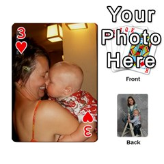 Personalized Playing Cards By Jennfer   Playing Cards 54 Designs   4jfw9h1dxy1p   Www Artscow Com Front - Heart3