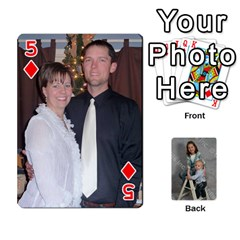 Personalized Playing Cards By Jennfer   Playing Cards 54 Designs   4jfw9h1dxy1p   Www Artscow Com Front - Diamond5