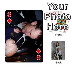 Personalized Playing Cards By Jennfer   Playing Cards 54 Designs   4jfw9h1dxy1p   Www Artscow Com Front - Diamond8