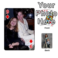 Personalized Playing Cards By Jennfer   Playing Cards 54 Designs   4jfw9h1dxy1p   Www Artscow Com Front - Diamond9