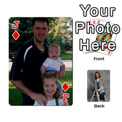 Jack Personalized Playing Cards By Jennfer   Playing Cards 54 Designs   4jfw9h1dxy1p   Www Artscow Com Front - DiamondJ