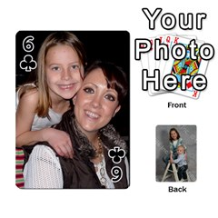 Personalized Playing Cards By Jennfer   Playing Cards 54 Designs   4jfw9h1dxy1p   Www Artscow Com Front - Club6