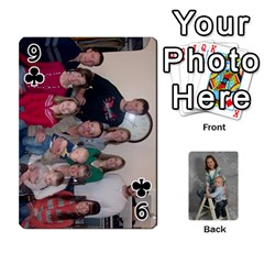 Personalized Playing Cards By Jennfer   Playing Cards 54 Designs   4jfw9h1dxy1p   Www Artscow Com Front - Club9