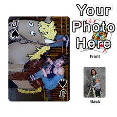 Jack Personalized Playing Cards By Jennfer   Playing Cards 54 Designs   4jfw9h1dxy1p   Www Artscow Com Front - SpadeJ