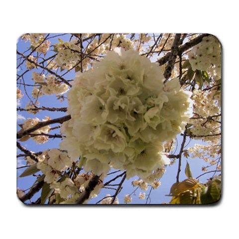 Cherry Blossom Mousepad By Winnie Yu   Collage Mousepad   Zp9bw2xfmsqh   Www Artscow Com 9.25 x7.75 Mousepad - 1