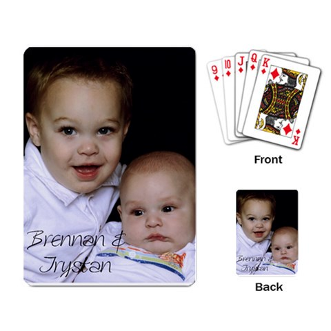 Cardsfordaddy By Renee Rentfro   Playing Cards Single Design   U232kvycqg80   Www Artscow Com Back