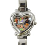 cute watch - Heart Italian Charm Watch