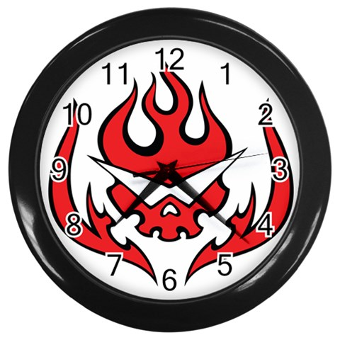 By Myself Last   Wall Clock (black)   J7em7nywwebp   Www Artscow Com Front