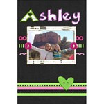 Ashley Notebook - 5.5  x 8.5  Notebook