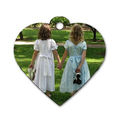 Ally&abby By Lisa   Dog Tag Heart (two Sides)   Gpp8rf5kdrot   Www Artscow Com Back