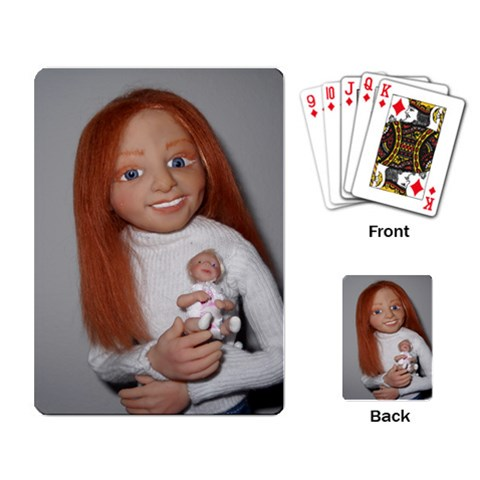 Kbeckett Ooak Action Figure By Kellie Beckett   Playing Cards Single Design   Ncd8wdp2m2or   Www Artscow Com Back