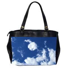 Clouds Oversized Handbag By Catvinnat   Oversize Office Handbag (2 Sides)   Wjd32hwtzhg0   Www Artscow Com Back