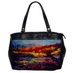 Autumn on the Horizon - Oversize Office Handbag