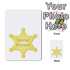 Character And Reward Cards By Brenda   Multi Purpose Cards (rectangle)   9hozjm5zk358   Www Artscow Com Front 54