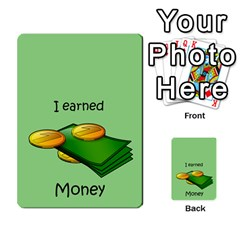 Character And Reward Cards By Brenda   Multi Purpose Cards (rectangle)   9hozjm5zk358   Www Artscow Com Front 10