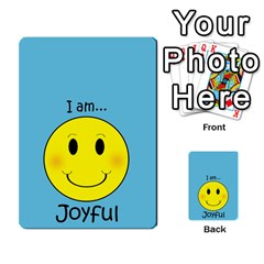 Character And Reward Cards By Brenda   Multi Purpose Cards (rectangle)   9hozjm5zk358   Www Artscow Com Front 27