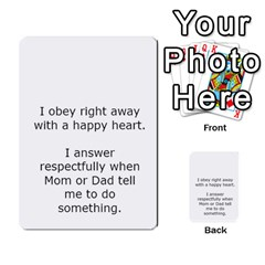 Character And Reward Cards By Brenda   Multi Purpose Cards (rectangle)   9hozjm5zk358   Www Artscow Com Back 30
