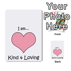 Character And Reward Cards By Brenda   Multi Purpose Cards (rectangle)   9hozjm5zk358   Www Artscow Com Front 33