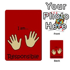 Character And Reward Cards By Brenda   Multi Purpose Cards (rectangle)   9hozjm5zk358   Www Artscow Com Front 34