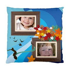 Summer By Wood Johnson   Standard Cushion Case (two Sides)   Dgk39c0h2nqu   Www Artscow Com Back