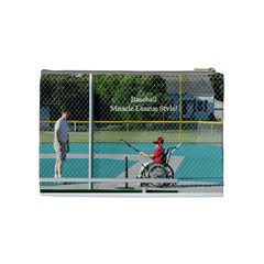 Miracle League Cosmetic Bag By Nicole   Cosmetic Bag (medium)   M7um5wb3mh0v   Www Artscow Com Back