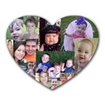 Hargraves Family - Heart Mousepad