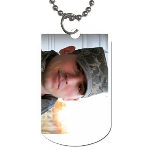 Dog Tag By Christina Sambogna Borcina   Dog Tag (one Side)   0m5fgagxcxu4   Www Artscow Com Front