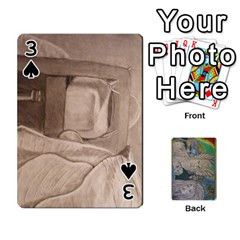 Dad s Cards By Jessica   Playing Cards 54 Designs   Ykwvnljic44l   Www Artscow Com Front - Spade3