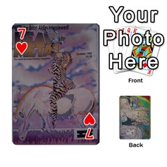 Dad s Cards By Jessica   Playing Cards 54 Designs   Ykwvnljic44l   Www Artscow Com Front - Heart7