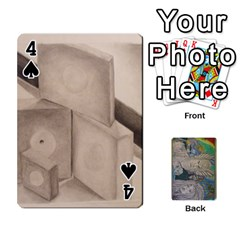 Dad s Cards By Jessica   Playing Cards 54 Designs   Ykwvnljic44l   Www Artscow Com Front - Spade4