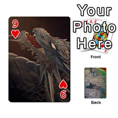 Dad s Cards By Jessica   Playing Cards 54 Designs   Ykwvnljic44l   Www Artscow Com Front - Heart9