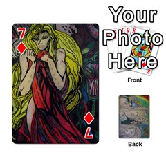 Dad s Cards By Jessica   Playing Cards 54 Designs   Ykwvnljic44l   Www Artscow Com Front - Diamond7