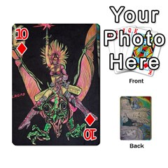 Dad s Cards By Jessica   Playing Cards 54 Designs   Ykwvnljic44l   Www Artscow Com Front - Diamond10