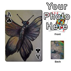Ace Dad s Cards By Jessica   Playing Cards 54 Designs   Ykwvnljic44l   Www Artscow Com Front - ClubA