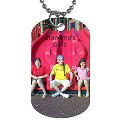 Grandma s Girls By Tuesday Pattison   Dog Tag (two Sides)   2glop5moz20o   Www Artscow Com Back