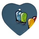 3D Animation Heart Ornament (Two Sides)