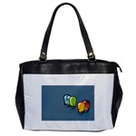 3D Animation Oversize Office Handbag (One Side)