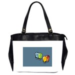 3D Animation Oversize Office Handbag (Two Sides)