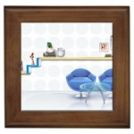 3D Architecture Interior Modeling Framed Tile