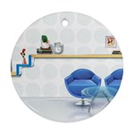 3D Architecture Interior Modeling Ornament (Round)