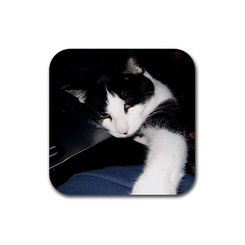 Oreo Coaster By Rachel Hull   Rubber Coaster (square)   6g906cv18jk1   Www Artscow Com Front